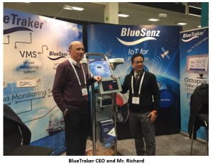 Richard with BlueTraker CEO